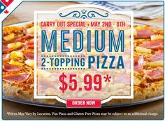 dominos black friday deals dominos pizza canada offers get 2 small 3 topping pizzas and