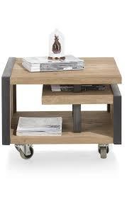 canap e 60 table d appoint moderne metalo 45x60 cm heth