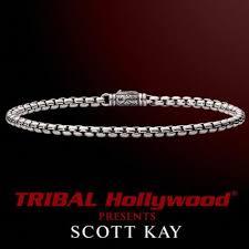 box link bracelet images Mens sterling silver bracelets tribal hollywood jpg