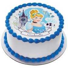 cinderella cake toppers officially licensed edible cake topper images never forgotten