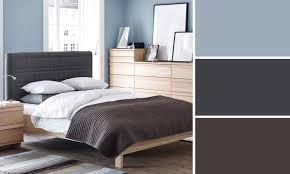 chambre gris bleu rideaux pour chambre adulte 4 deco chambre marron et bleu