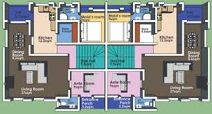 bedroom duplex floor plans 3 bedroom