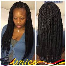 box braids hairstyle human hair or synthtic african hairstyles braided hair 18 24inch havana mambo twist