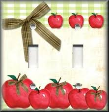 Apple Decorations For Kitchen Apple Candle Holder Apple Theme