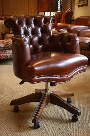 Antique Captains Chair Leather Captain U0027s Chair Leather Desk Chair Antique Leather Desk