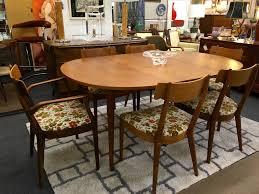 1958 drexel declaration dining set by kipp stewart mid century