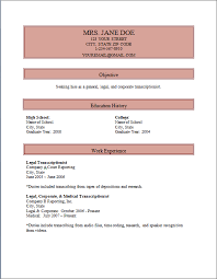 Medical Transcriptionist Resume Sample by Medical Transcription Sample Resume