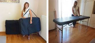 massage table carry bag folding massage table the advantage ii 115kg galaxy thermatop