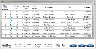 lowfat invoice quickbooks edition screenshots