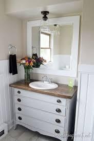 Modern Bathroom Cabinet Ideas by Best 25 Dresser To Vanity Ideas Only On Pinterest Dresser