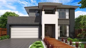 modern concrete house plans modern house with beautiful and creative wall with brick wall in