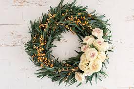 fresh christmas wreaths diy 4 gorgeous flower wreaths conrad