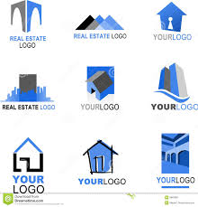Real Estate Logo Templates by Collection Of Real Estate Logos Royalty Free Stock Images Image