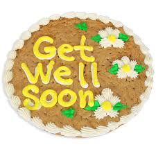 get well soon cookies get well soon cookie cake by gourmetgiftbaskets