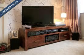 Media Center Furniture by Large Solid Wood Media Center Casa Bella Furniture Uk