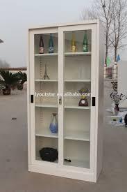 wholesale display glass door cabinet online buy best display