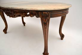 antique french style marble top coffee table marylebone antiques