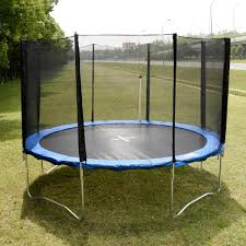 12 ft trampoline combo bounce jump safety enclosure net