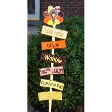 thanksgiving yard sign nobbieneezkids