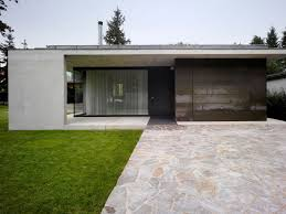 house dv modern minimalism draped in concrete and steel view
