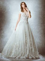 ethereal wedding dress zuhair murad 2015 fall bridal wedding dresses photos