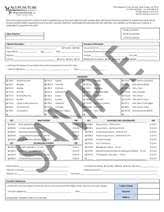 Superbill Template by Acupuncture Superbill Sle