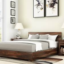 Wood Platform Bed Rustic Solid Wood Platform Beds Living Concepts