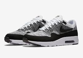 Nike Oreo oreo vibes appear on the new nike air max 1 ultra flyknit