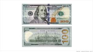 poll do you like the design of the 100 bill cnnmoney