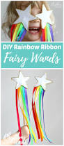 diy rainbow ribbon fairy wands for kids rhythms of play