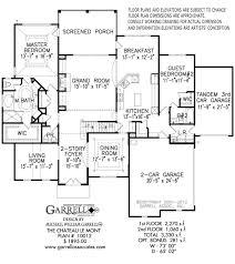 chateau floor plans chateau le mont house plan house plans by garrell associates inc