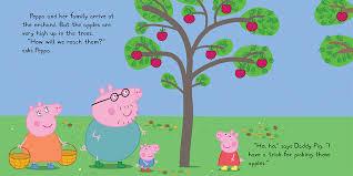 Peppa Pig 2017 Book Scholastic Canada Peppa Pig Peppa Goes Apple Picking