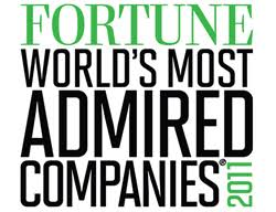 Fortune's World's Most Admired companies