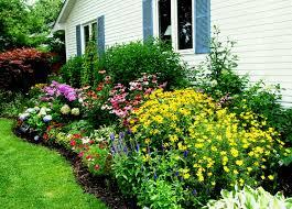 Sidewalk Garden Ideas Garden Edging Next To Sidewalk Flower Gardens Include Annuals