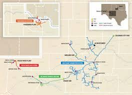Colorado River Texas Map Operations Medallion Midstream