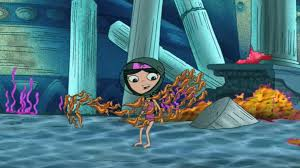 Phineas And Ferb Backyard Beach Game Image Seahorses Surround Isabella Jpg Phineas And Ferb Wiki