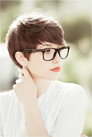 short hairstyles with glasses and bangs short hair pixie cut hairstyle with glasses ideas 90 pixie cut