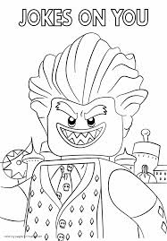 Colouring Pages Lego Movie The Joker Coloring Pages Joker