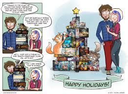 christmas tree of games u2014 board game comics u2013 clever move