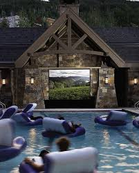 outdoor movie theater pool yeppppp places to go and things to