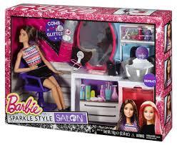barbie sparkle style salon brunette walmart com