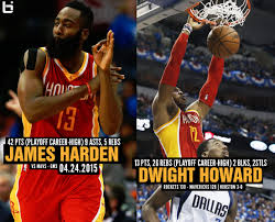 Dwight Howard Memes - james harden 42 points dwight howard 26 rebounds have playoff