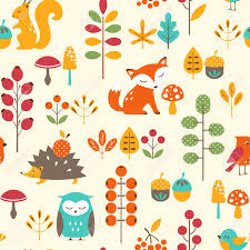 cute fall wallpapers colourful fox pattern google search foxes pinterest fox
