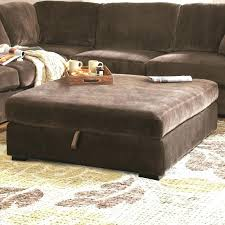 ottoman upholstered storage ottoman coffee table stone veneer