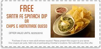 cheddar s coupons offer demo cheddar s scratch kitchen