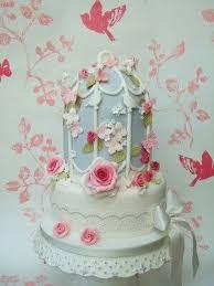 14 birdcage wedding cakes images birdcage