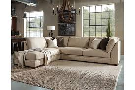 beige leather sectional sofa alluring malakoff 2 piece sectional ashley furniture homestore beige