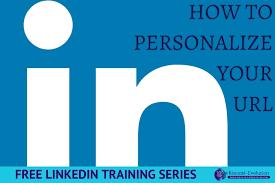 Resume Linkedin Url Free Linkedin Training Customize Your Linkedin Url