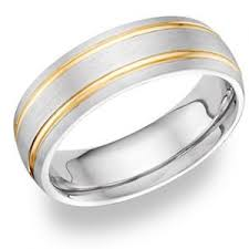 mens two tone gold wedding bands s two tone gold wedding bands