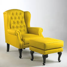 Wing Back Chair Design Ideas Fabolous Yellow Wingback Chair Design Ideas Rilane We Aspire